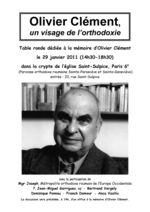 AfficheOlivier Clément