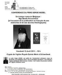 Affiche p Serge-mgr Basile